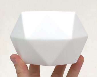 Hexagonal Porcelain Pot