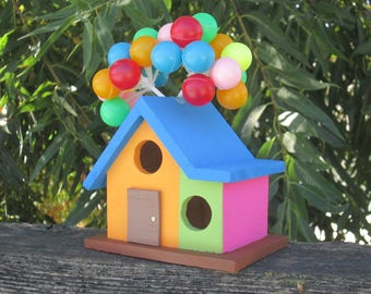 UP inspired Balloon House decoration / birdhouse / storage box