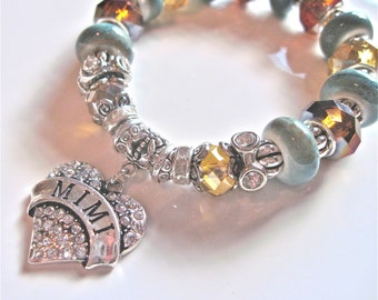 """MIMI's Bracelet """" Because I love you so much """""""
