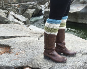 Leg Warmers Crochet Pattern THE HOOKSETT