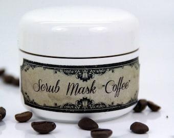 "Scrub-Mask ""Coffee"""