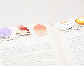 Dessert Magnetic Bookmarks (Mini 5 Pack)