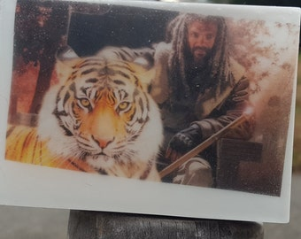 Walking Dead Graphic Art Soap Bar - Welcome to the Kingdom - Novelty Soap - AN AJSWEETSOAP EXCLUSIVE - King Ezekiel Shiva