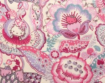 SALE - Liberty tana lawn printed in Japan - Tree of Life Garden  - Purple mix