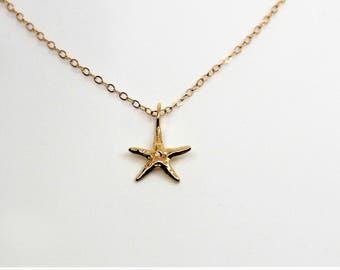 Starfish Necklace - Sea Star Necklace - Handmade Jewelry - Made in Hawaii