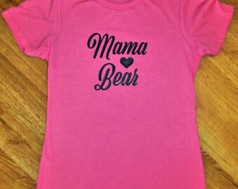 Mama bear shirt, mom shirt, mama bear