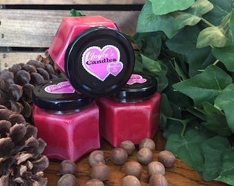 Handmade Strawberry Cheesecake 4 oz Soy Candle