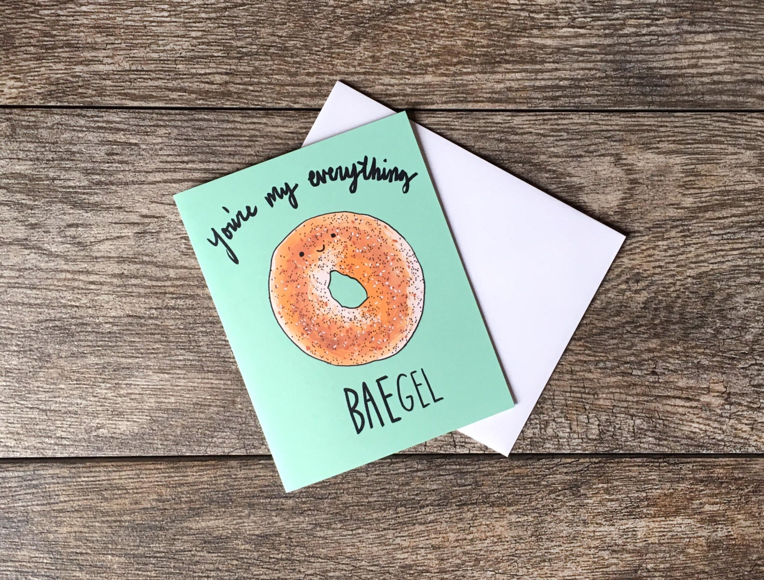 Youu0027re My Everything BAEgel Greeting Card