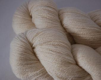 Un-dyed:  Studio June Yarn Cashmere Lace - 100% Cashmere