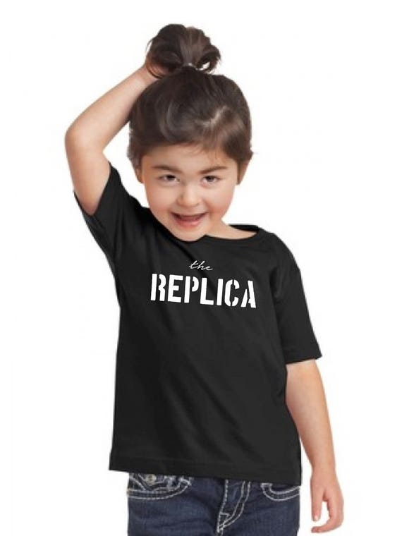 Girl t-shirt or body THE REPLICA