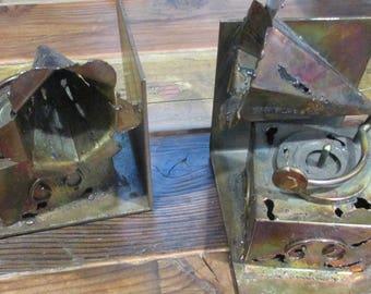 Bookends Metal  Gramophone.. Phonograph horns
