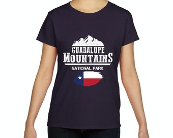Guadalupe Mountains National Park  Texas Women Shirts T-Shirt Tee
