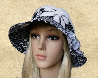 Summer fabric hats, Womens cotton hats, Wide brim hats, Trendy hats lady, Women's brimmed hats, Summer womens hats, Sun hats women