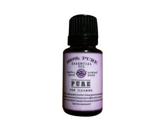 Pure Essential Oil Blend For Cleaning - 15 ml