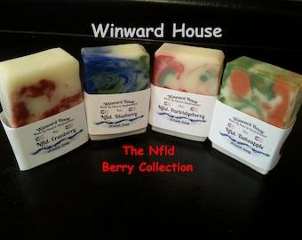 Newfoundland Berry Artisan Soap Collection