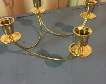 Unique candle holder centerpiece