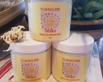 Sunderwear Chemical Free Sunscreen Cream