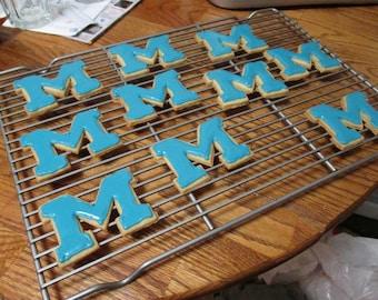 University of Michigan Cookie Cutter