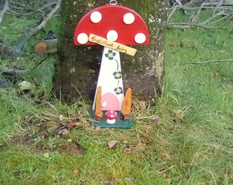 The Toad Stool Fairy Houses