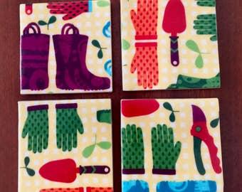 Garden Coasters - A Contemporary Touch for Your Porch or Patio
