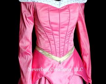 Sleeping Beauty Aurora Parade Version Custom Costume (With Optional Winter Bodice)