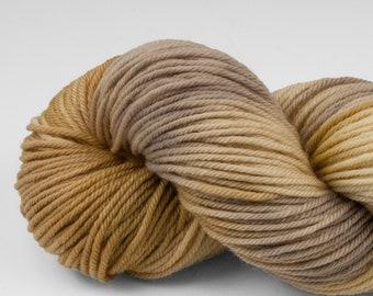 Handpainted DK weight yarn, 100% SW Merino, Spry115, 115 g, Yellowstone