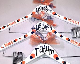Personalized uniform hanger for cheerleaders, dancers, team gifts, Orlando bound cheerleaders&dancers, Disney bound cheerleaders, dancers