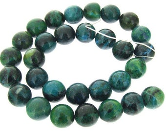 Strand Round Jasper Gemstone Beads 14mm