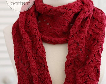 Knitting Pattern Scarf. Knit Scarf. Knit Patterns Scarf. Knitted Scarf Pattern. DIY Scarf. Knitting Accessories.