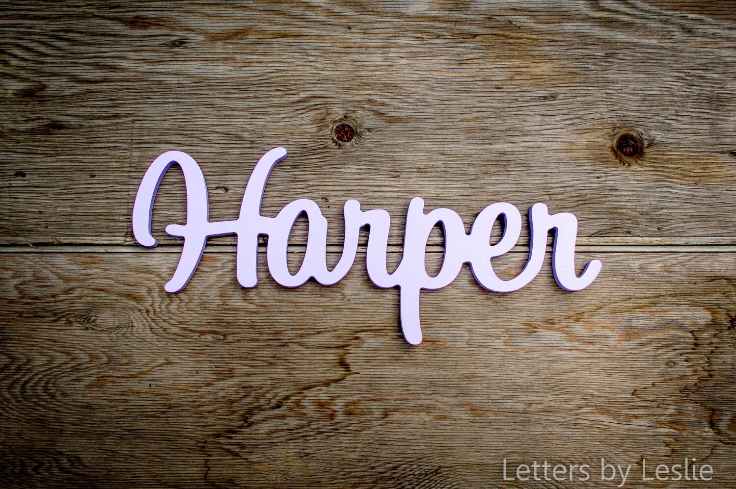 Nursery Decor Nursery Letters Wooden Letters For Nursery