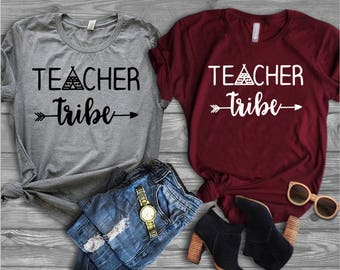 Teacher Tribe Shirt//Teacher Shirt//Shirts for Teachers//Gift for Teacher//Teacher Team Shirt