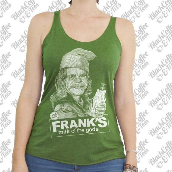 St. Patricks Day Shirt - Shameless Shirt- Womens Frank Gallagher Shirt - Frank from Shameless Beer Shirt Hand Screen Printed Green Tank Top