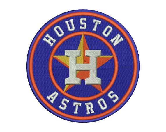 Houston Astros Embroidery Design 1 5 Sizes