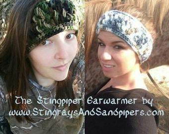 StingPiper Earwarmer Headband PDF Crochet Pattern