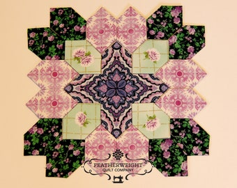 Lucy Boston Patchwork of the Crosses - Traditional Block kit #15