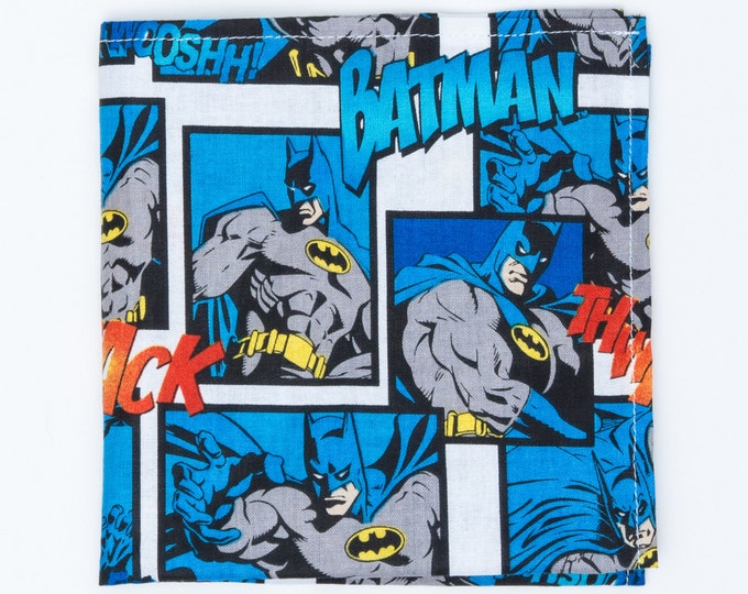 "The ""Caped Crusader"" Pocket Square."