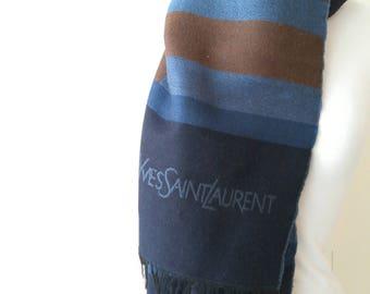 YSL wool scarf 100% foulard scarf
