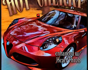 Hot Cherry w/ Heart Throb - Pheromone Enhanced Fragrance for Men - Love Potion Magickal Perfumerie - Pherotine 2018
