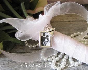 Bridal Bouquet Photo Frame Charm