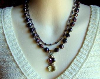 Purple Extravaganza Necklace