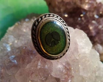 Vintage, ring, emotions, feelings, mood, color change, Moodring,