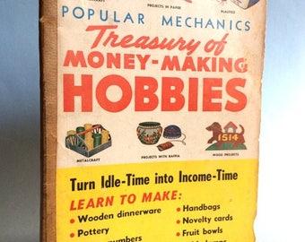 Popular Mechanics Treasury of Money Making Hobbies vintage paperback 1956