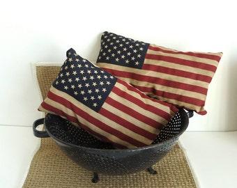 Patriotic American Flag Shelf Sitters