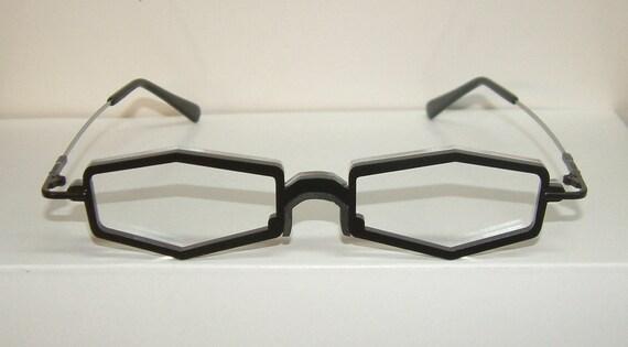 Anime black coffin frame chef cosplay costume glasses