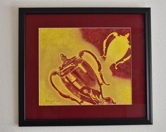 Original Acrylic Painting, Glory by Bethany Gonzalez