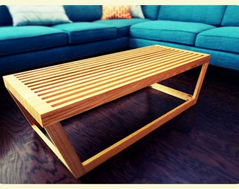 Mid Century Modern Inspired Nelson Coffee Table