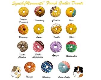 Mini Cruller Donut Squishies
