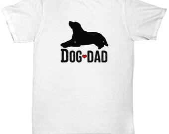 Dog Dad Father's Day Shirt Gift Labrador Black Lab Animal Lover Shirts