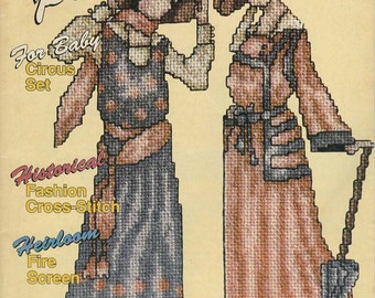 Cross-Stitch Plus Magazine - January 1991