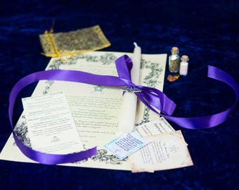 Bespoke positive mental health and happiness spell made with love and empathy by authentic white witch